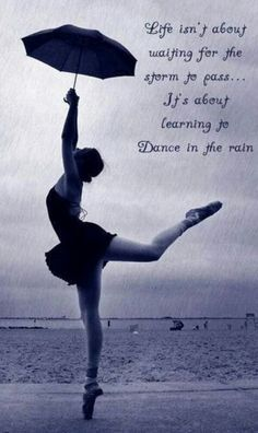 I love dancing in the rain!!!!!!!  Best. Thing. Ever.