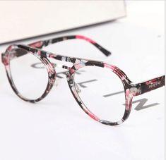 Brand Round Eyeglasses Women Eyewear Frame Clear Lens Computer Reading  Glasses Prescription Eye Glasses para oculos b411de5234