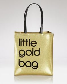 Little Gold Bag | Bloomingdales :: I want one!
