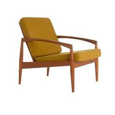 Teak Armchair ...would need to be re-upholstered of course