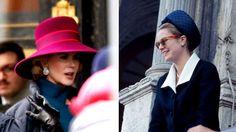 """Grace of Monaco"" with Nicole Kidman.  Nicole Kidman's hats were created by Alexandre Barthet."
