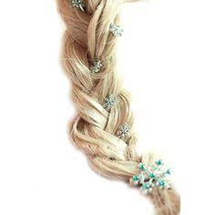 Tinksky Beautiful Frozen Snow Queen Elsa Rhinstones Decor Cosplay Snowflake Hairpins Hair Clips Set Tinksky http://www.amazon.com/dp/B00M1MS3K4/ref=cm_sw_r_pi_dp_p6p9tb0250Q3F
