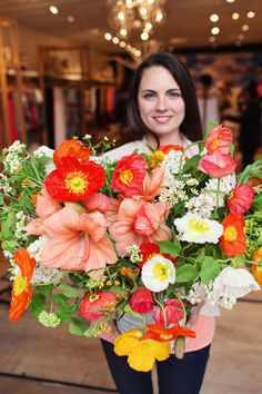 now THAT'S a bouquet of flowers