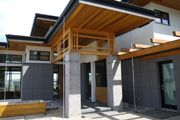 Japanese timber frame meets modern architecture design