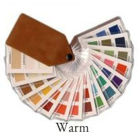 Find the Warm fabric color swatch here http://www.style-yourself-confident.com/color-analysis-swatch.html