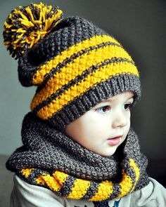 Ideas knitting scarf for kids inspiration - Knit Hat Knitted Hats Kids, Baby Hats Knitting, Knitting Wool, Knitting For Kids, Diy Crafts Knitting, Knitting Blogs, Knitting Patterns, Crochet Beanie, Crochet Baby