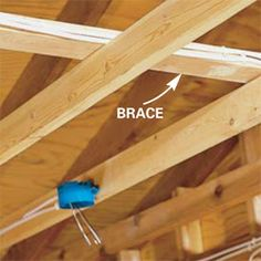 how to wire a garage unfinished outlets lights and basements rh pinterest com Surface Wiring Garage Garage Electric Wiring Examples