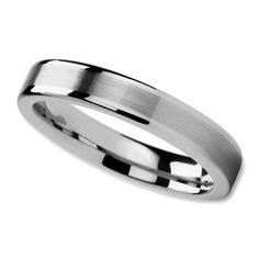 Wedding Band In 8mm With Slightly Domed Surface