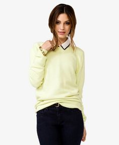 Bow back sweater. I love it in pink.