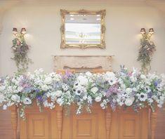 お花が素敵な高砂ばかりを集めたメインテーブルコーディネート集 | marry[マリー]