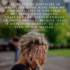 Day 5 of 7: How to be more like Christ Rather, clothe yourselves with the Lord Jesus Christ, and do not think about how to gratify the desires of the flesh. - Rom. 13:14