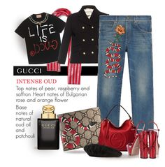"""""""Life Is Gucci"""" by bb60477 ❤ liked on Polyvore featuring Gucci"""