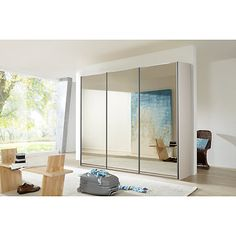 Vintage Buy John Lewis Elstra cm Wardrobe with Mirrored Sliding Doors Online at johnlewis