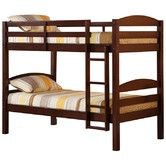Found it at Wayfair - Twin Bunk Bed with Built-In Ladder