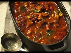 Our popular recipe for Fiery Oven Chili Pot and over other free recipes LECKER. Oven Recipes, Pork Recipes, Cooking Recipes, Healthy Eating Tips, Eating Habits, Healthy Recipes, Czech Recipes, Indian Food Recipes, Best Meat