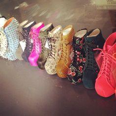 Llamativos botines de moda | Colección 2014