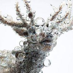 Sculpture by Japanese artist Kohei Nawa #art