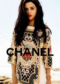 Selena for Chanel?! I thought she couldn't get any better...and then she does (:
