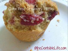 Gluten-free strawberry muffin recipe via @Kelly Whalen