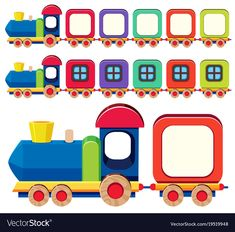 Wooden train in different colors Royalty Free Vector Image Garden Theme Classroom, Classroom Board, Classroom Themes, My Melody Wallpaper, Pink Wallpaper Iphone, Toddler Activities, Learning Activities, Birthday Bulletin Boards, Birthday Charts
