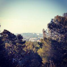 La Bonne Mère vue du Roy d'Espagne #Marseille