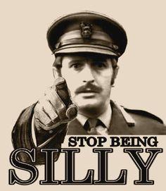 Stop being silly - Monty Python, Eric Chapman British Humor, British Comedy, British Actors, Stupid Jokes, Silly Jokes, Monty Python, Eric Idle, Michael Palin, Super Secret