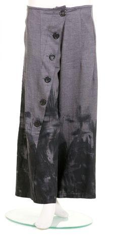 Chalona Wide Leg Button Trouser
