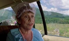 """Aunt Edna, National Lampoons Vacation. """"You're the ones that sent me that fruitcake! I was SO SICK!"""""""