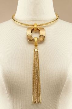 Gold Rush Collar from Soft Surroundings