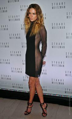 Stylish Starlets: Trendy or Tacky: Sheer Panel Dresses?