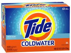 DIY Tide Coldwater HE for only $0.06/Load!  Only 3 Ingredients & Super Easy!