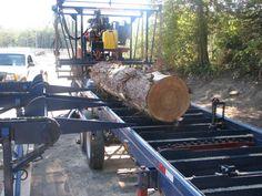 D & L Timber Technologies Portable Saw Mill, Plein Air, Firewood, Technology, Sports, Saw Tool, Tech, Hs Sports, Woodburning