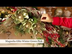 Make your own designer wreath mantel...Holiday Mantel Magic