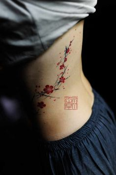 33 Pretty Cherry Blossom Tattoos (19)