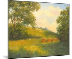 Golden Day Art Print by Mary Jean Weber at Art.com