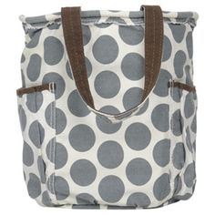 Retro bag (can be monogrammed).  This pattern (mod dot) is only available until the end of Jan.