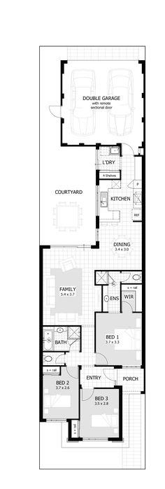 Ava Floor Plan - 7.5m design