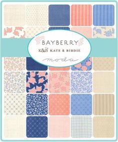 Moda Layer Cake - Bayberry by Kate & Birdie
