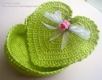 Heart shaped box crochet
