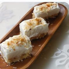 Haupia Shortbread Bars @keyingredient