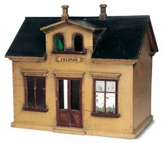 "Antique Dolls and Toys of LEGO - Session 1: 199 Small Wooden Dollhouse Cottage Known as ""Solvang"""