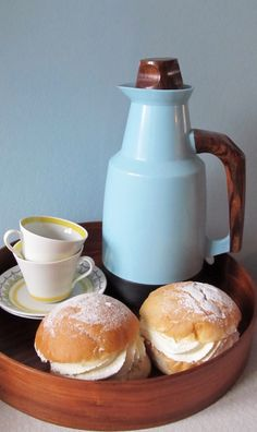 Nordiska Style: Coffee and semla on a Sunday afternoon