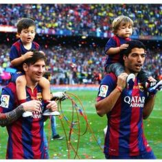 SUAREZ AND MESSI