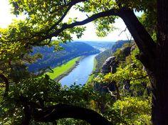 Einblick in die Sächsische Schweiz