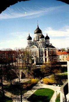 Nevski Cathedral, Tallinn, Estonia