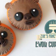 Star Wars Ewok cupcakes!