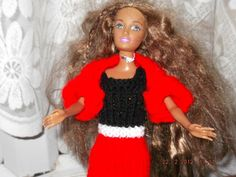 Handmade Outfit for Barbie Dolls   SEE SPECIAL OFFER  (nannycheryl original)1022 £3.00