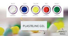 Plasteline for 3d nail art
