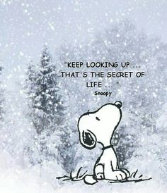 If snoopy said it......