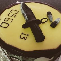 Counter Strike Global Offensive 13th birthday cake created by Gypsy Rose Parties
